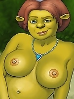 Shrek's sluts in action