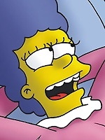 Alex Whitney is fucked by Bart Simpson